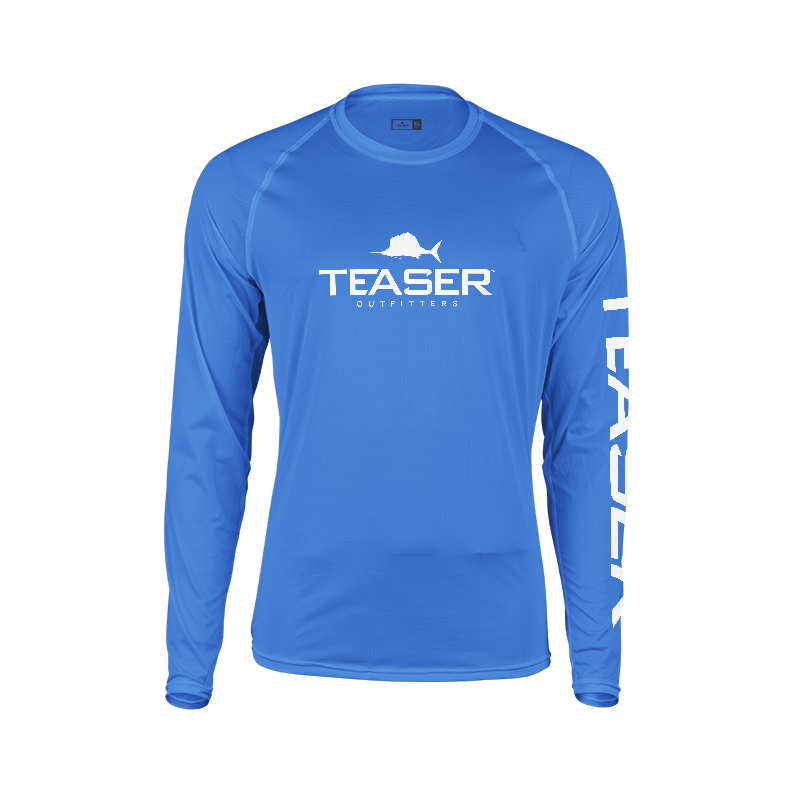 Mens Coastal Royal Blue Performance Shirt