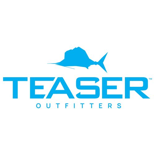 Teaser Outfitters Blue Logo Decal