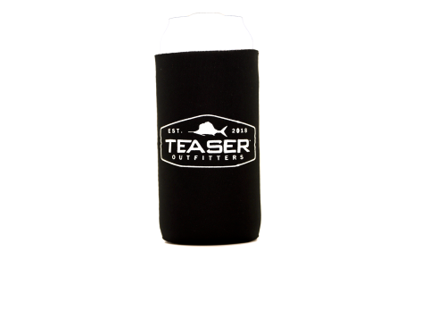 Collapsible Slim Can Koozie - Black