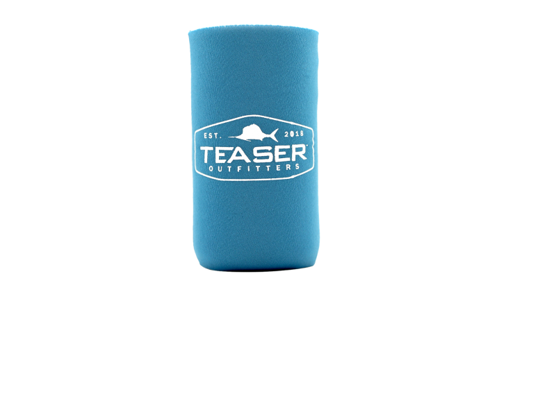 Collapsible Slim Can Koozie - Blue