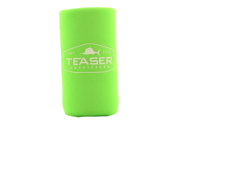 Collapsible Slim Can Koozie - Green